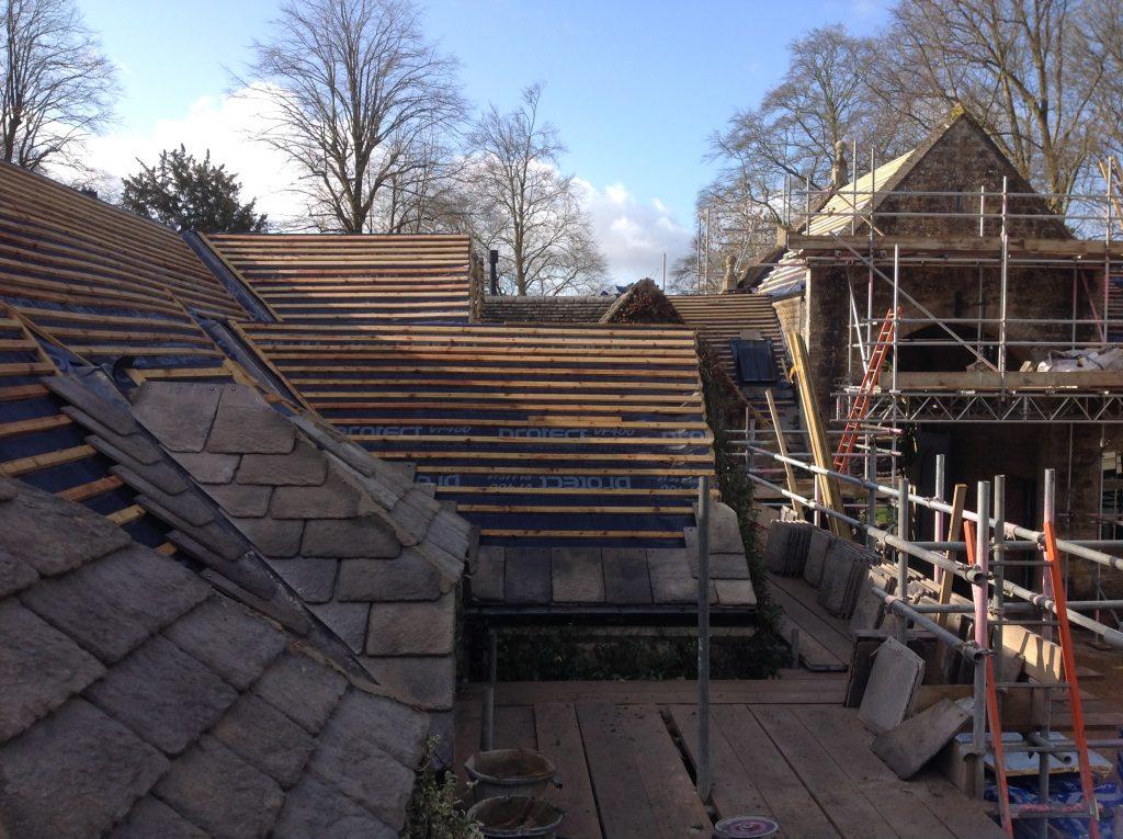 roofing slats